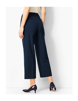 Refined Wide Leg Crop Pant by Talbots