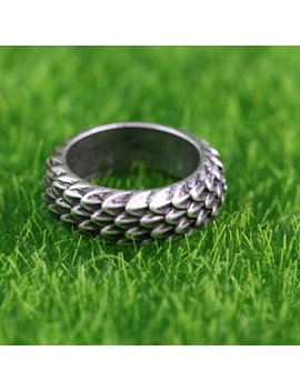 Dragon Scale Ring by Etsy