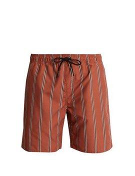 Timothy Striped Swim Shorts by Saturdays Nyc