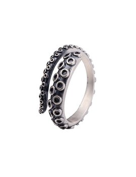 1 Pcs Punk Rings, New Octopus Ring, Titanium Steel, 925 Silver Ring,Adjustable Ring, Octopus Ring, Women Accessories, Jewelry by Etsy