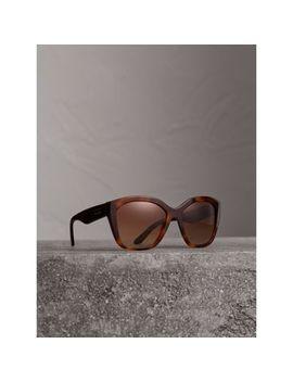 Square Frame Sunglasses by Burberry