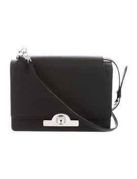 Moynat Textured Leather Shoulder Bag by Moynat