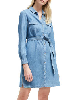French Connection Shirt Dress, Bleach Blue by French Connection