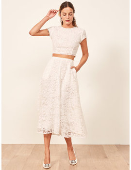 Harp Two Piece by Reformation