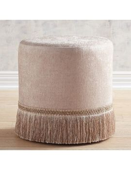 Florence Champagne Vanity Stool by Pier1 Imports