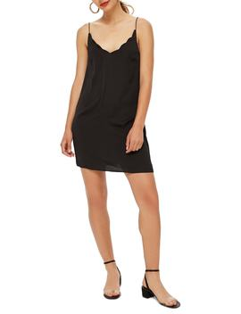 Scallop Mini Slipdress by Topshop