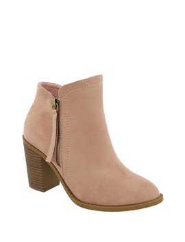 Dave Faux Suede Bootie by Top Moda
