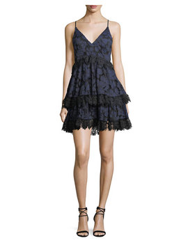 Tiered Lace Babydoll Dress by Kendall + Kylie