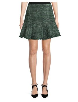 Flounce Hem A Line Skirt by Rebecca Taylor