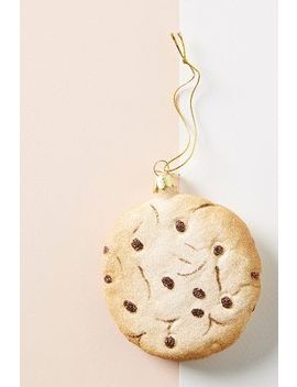 Chocolate Chip Cookie Ornament by Anthropologie