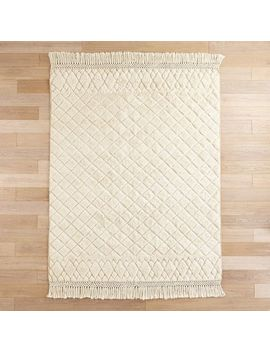 Diamond Moroccan Ivory Rug by Pier1 Imports