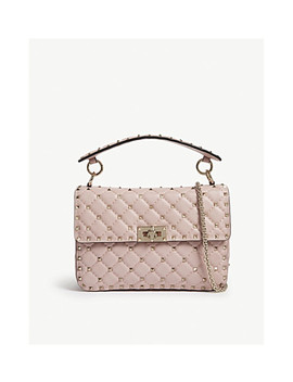 Rockstud Quilted Medium Leather Shoulder Bag by Valentino