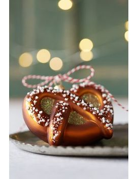 Glass Pretzel Ornament by Anthropologie