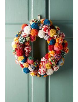 Pom Bonanza Wreath by Anthropologie