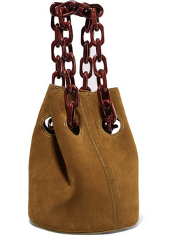 Goodall Suede Bucket Bag by Trademark