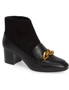 Jessa Horse Hardware Loafer Bootie by Tory Burch