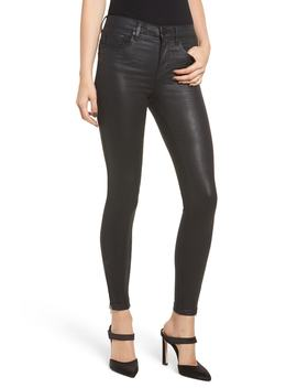 The Bond Coated Skinny Jeans by Blanknyc