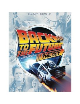 Back To The Future: The Complete Trilogy (30th Anniversary Edition) (Blu Ray + Digital Hd) (Vudu Instawatch Included) by Universal Pictures