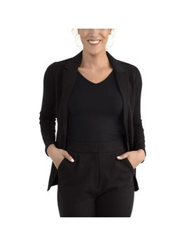 Women's Mix It Up Blazer, Available In Sizes Up To 2 Xl by Seek No Further By Fruit Of The Loom