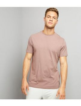 Pink Crew Neck T Shirt by New Look