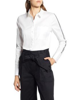 Stripe Sleeve Shirt by Halogen®