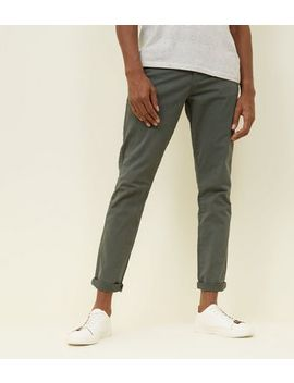 Khaki Slim Fit Chinos by New Look