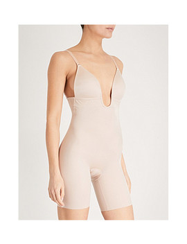 Suit Your Fancy Plunge Stretch Jersey Body by Spanx