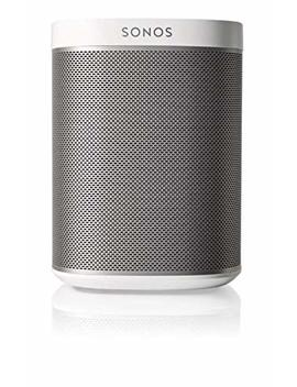 Sonos Play:1 Lettore All In One, Wireless, Controllabile Da Smartphone, Tablet E Pc, Bianco by Sonos