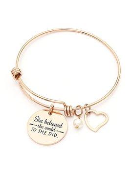 Sunflower Jewellery Charm Bracelet Adjustable Bangle Gift For Women Girl Sister Mother Friends by Sunflower Jewellery