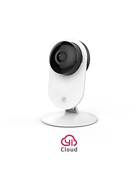 Yi Home Camera 1080p Wireless Ip Telecamera Di Sorveglianza, Visione Notturna, Rilevatore Di Movimento 2 Way Audio, Casa Monitor Baby Monitor, Wifi E App Per Cellulare/Pc by Yi