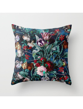 Night Forest X Throw Pillow by