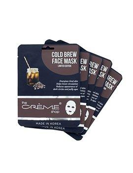 The Crème Shop   Cold Brew Face Mask   5 Piece Set by The Creme Shop