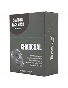 Creme Charcoal Face Mask Collection Special Edition 12 Pcs by The Creme Shop
