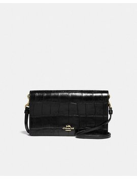 Foldover Crossbody Clutch by Coach