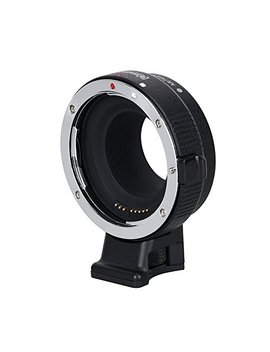 Commlite Cm Ef Eos M Electronic Auto Focus Lens Mount Adapter Canon Ef/Ef S D/Slr Lens To Canon Eos M (Ef M Mount) Mirrorless Camera Body Adapter For Canon Eos M1 M2 M3 M5 M6 M10 M100 by Commlite