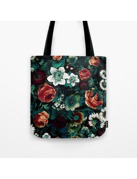 Midnight Garden Viii Tote Bag by