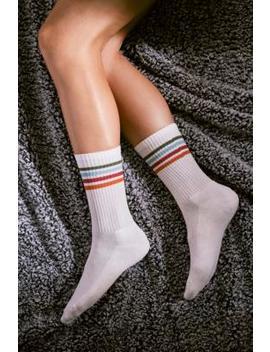 Retro Stripe Sport Socks by Urban Outfitters