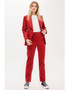 Corduroy Trousers by Topshop