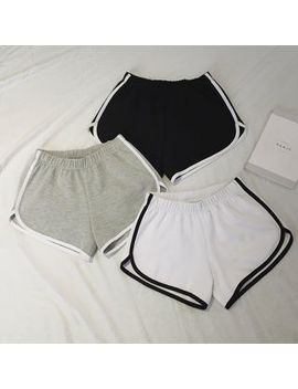 Moon City   Contrast Trim Shorts by Moon City
