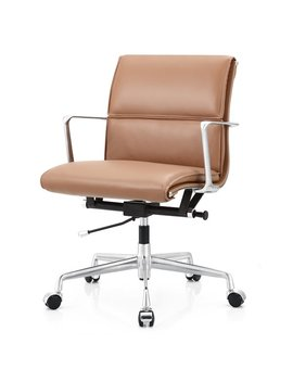 Meelano Italian Leather Office Chair & Reviews by Meelano