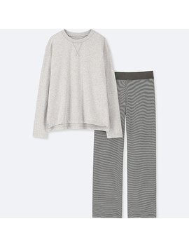 Women Ultra Stretch Long Sleeve Lounge Set by Uniqlo