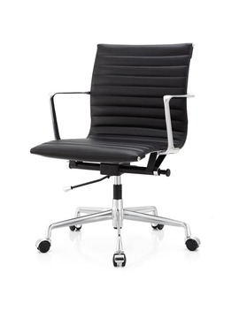 M5 Aniline Leather Ergonomic Office Chair by Generic