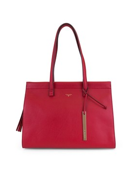 Sienna Leather Tote Bag by T Tahari