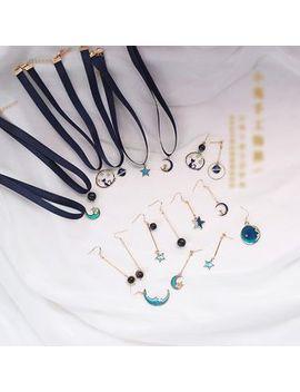 Elfis   Planet / Moon / Bead Earring (Various Designs) by Elfis