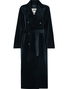 Cotton Velvet Coat by Acne Studios