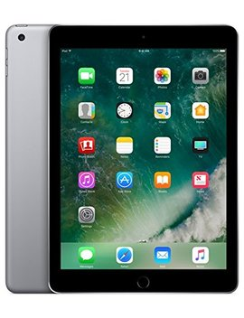 Apple I Pad With Wi Fi + Cellular, 32 Gb, Space Gray (2017 Model) by Apple