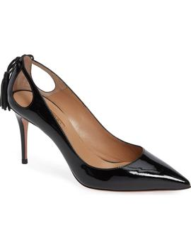 Forever Marilyn Tassel Pointy Toe Pump by Aquazzura