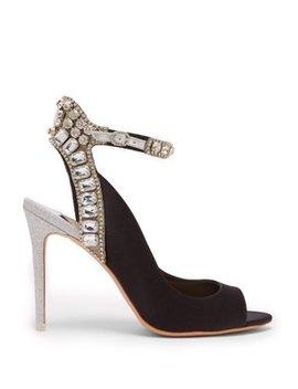 Lorena Crystal Embellished Heels by Sophia Webster