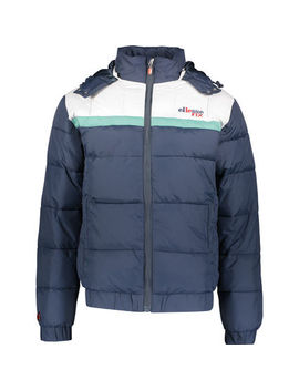 Blue Padded Jacket by Ellesse