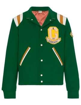 Guccitiger Motif Varsity Jacketturn Up Tailored Trouserslogo Sweater Tiger Motif Varsity Jacket by Gucci